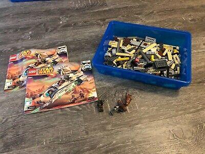 Lego Star Wars Wookie Gunship set 75084 complete w/ mini figures & manual
