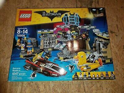 LEGO The Batman Movie Batcave Break-in 70909, Brand New - Retired!
