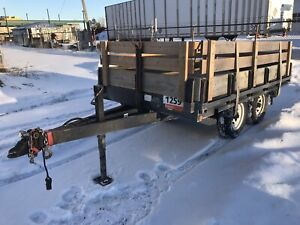 Flatbed trailer - great condition!