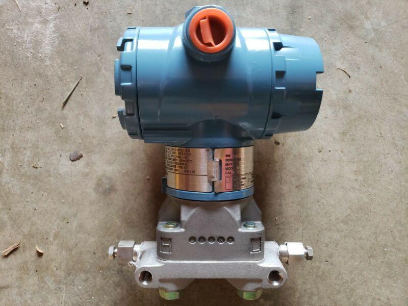 Rosemount 3051CD Pressure Transmitter. 0-250 inches of water.
