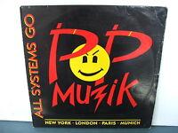 RECORD-12-45-POP-MUZIC-ALL-SYSTEMS-GO-1988-RARE