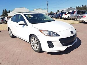 * * 2011 MAZDA 3 AUTOMATIC * LEATHER * SUNROOF * 6 MONTH WARRANT
