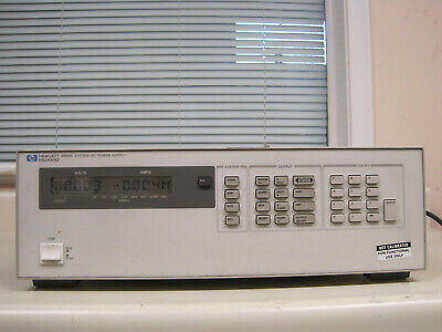 Hp Agilent 6625a Variable 2 Output Dc Power Supply Used Free Shipping