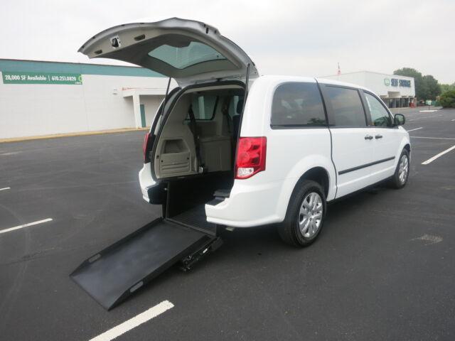 Dodge : Grand Caravan Rear Access Handicap Equipped Van Rear Handicap Ramp Equipped Wheelchair Van. ADA Compliant !!!