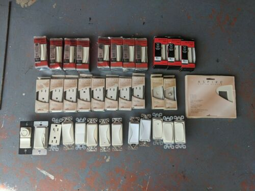 Pass and Seymour electrical switches and outlets
