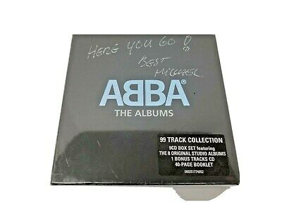 The Albums, ABBA, 9 CD Discs Box Set, the 8 Original Studio Albums, Bonus CD NEW