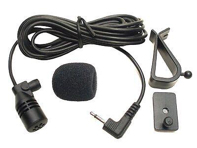 FingerLakes Microphone Mic 2.5mm for Car Vehicle Stereo Radio GPS DVD Bluetoo...