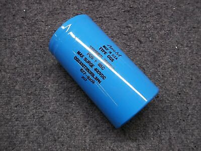 Aero M Model 3300mfd Large Can Electrolytic Capacitor 350vdc Type Cgs