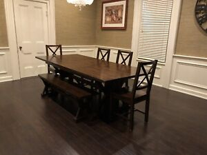 Dining room set - Urban Barn dining collection
