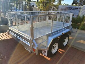 HIRE: 8x5 tandem caged trailer Holden Hill Tea Tree Gully Area Preview
