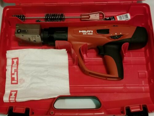 HILTI DX 462 Powder actuated tool with X-HM Head MINT CONDITION.(USED)