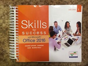 Skills for success office 2016