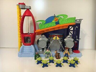 Disney Imaginext Toy Story 4 Pizza Planet Figure Set