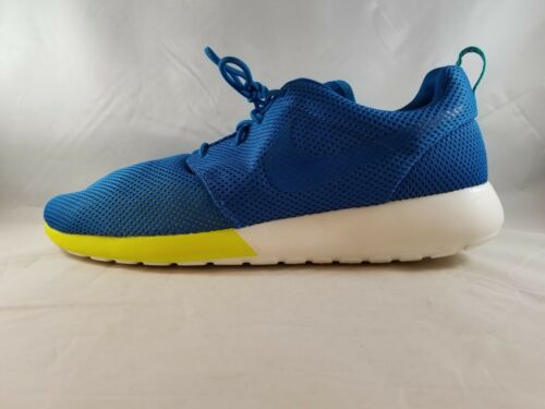 Nike Rosherun Men's Sneakers Military Blue/Turbo Green/Summit White 511881-400 (SIZE: 13) 511881-400_13