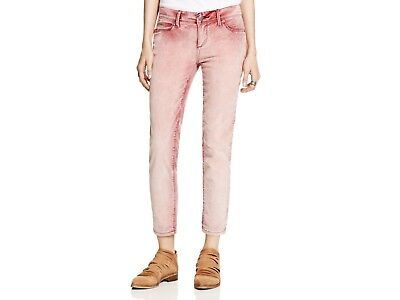 NEW Free People Roller Cropped Corduroy Jeans Pants Faded Merlot Size 26 $78 Corduroy Cropped Pants