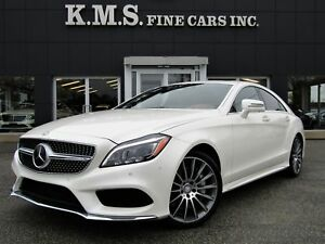 2015 Mercedes-Benz CLS-Class CLS550 4MATIC/ SPORT/ DISTRONIC/ SU