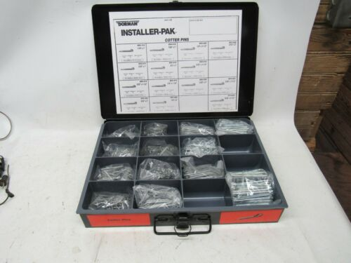 Dorman Cotter Pin Assortment  NEW in Metal Box SAE