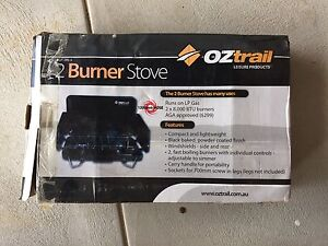 Oztrail 2 burner gas stove with 3kg gas bottle Baldivis Rockingham Area Preview