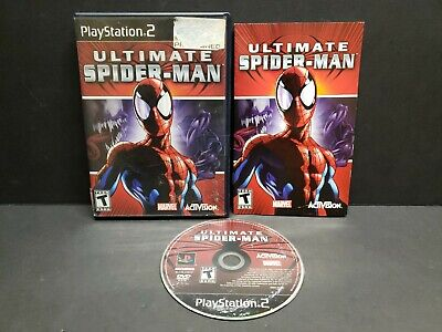 Ultimate Spider-Man (Sony PlayStation 2, 2005) PS2 Complete
