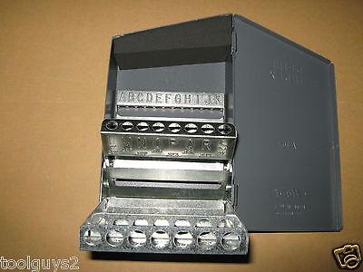 Huot Stub Screw Machine Letter A To Z Drill Bit Dispenser Index 11400