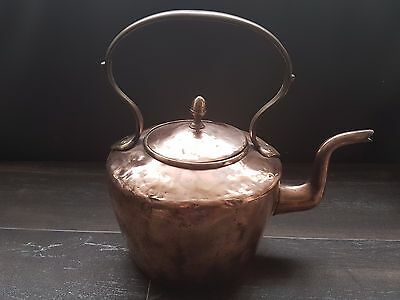 Antique Copper And Brass Kettle Kitchen