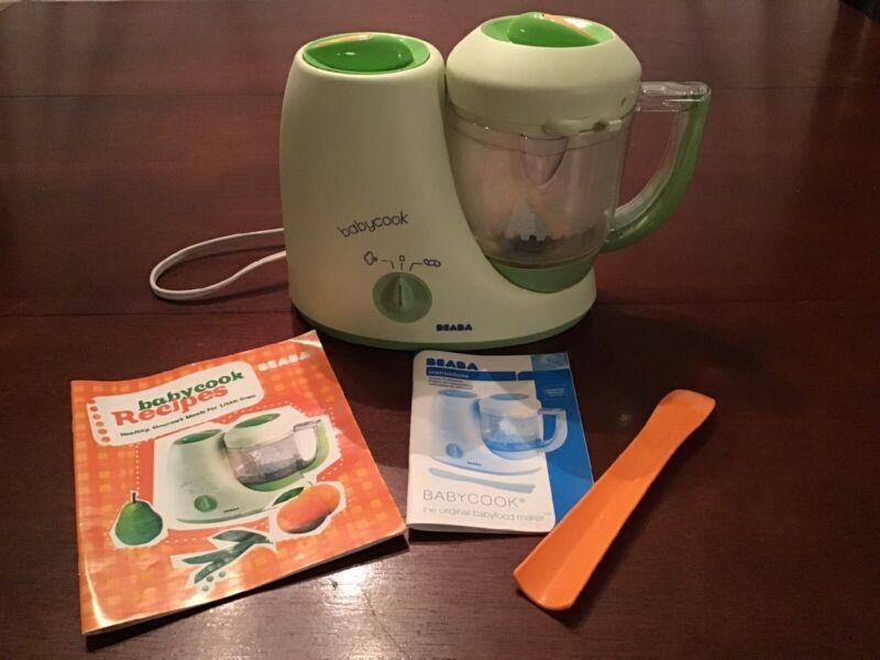 Beaba Babycook 4 in 1 Steamer Cooker And Blender Baby Food Maker