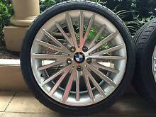 "19"" GENUINE BMW 4-SERIES SPORT F32 / 3-SERIES F30 WHEELS & 95% BR Balwyn Boroondara Area Preview"