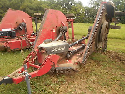2011 Model Bush Hog 12715l Mower With Chains
