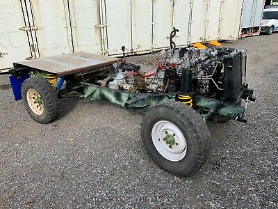 Land Rover Discovery Defender rolling chassis 300tdi project unfinished