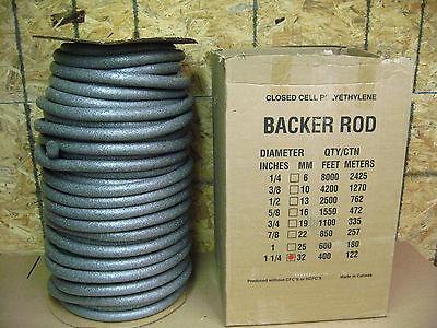 Closed Cell Polyethylene Back Rod 1-14 X 400 D-1
