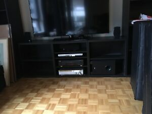 Tv stand ikea besta unit MUST GO ASAP