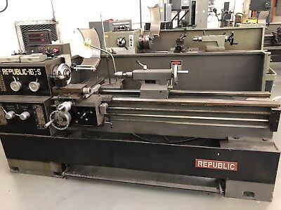 Republic 16 Tool Room Engine Lathe Metalworking