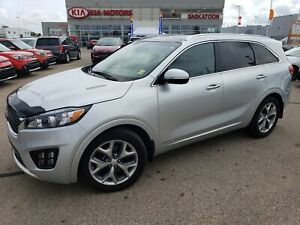 2017 Kia Sorento 3.3L SX+ THIRD ROW SEATS - AWD - COOLED FRON...