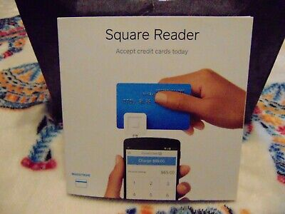New Square Reader Credit Card Reader For Iphone Ipad Android