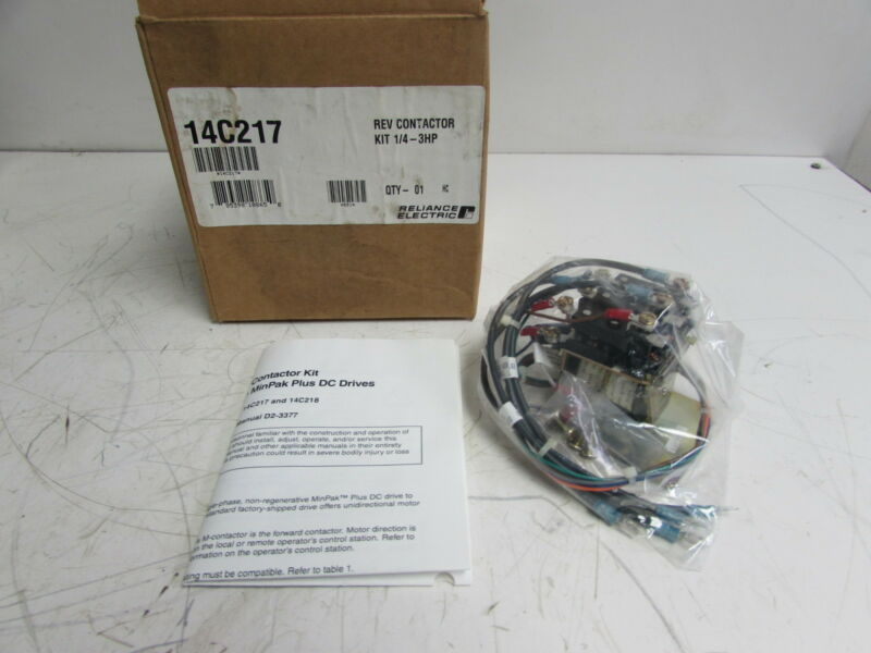 RELIANCE 14C217 REV CONTACTOR KIT 14/4-3HP ***NIB***