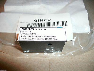 Minco Temptran Rtd Transmitter Tt111pa1m