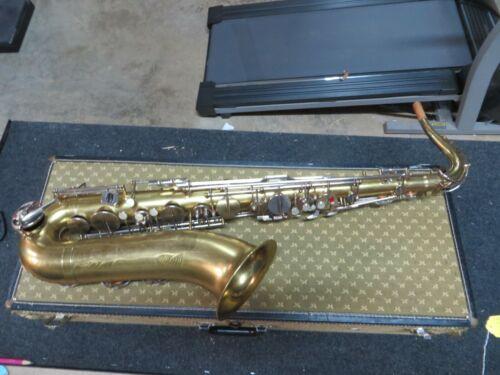 Vintage LeBlanc Paris Tenor Saxophone S/N 6XX Extremely Rare!