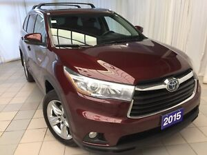 2015 Toyota Highlander Hybrid Limited | Loaded | Brand new tires