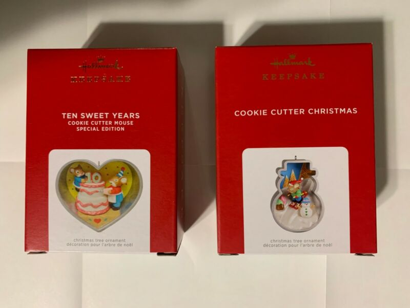 2021 Hallmark Ornaments Ten Sweet Years (Limited Edition) & The Snowman Together