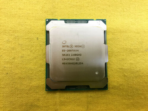*** SR2K1 Intel XEON Processor E5-2697AV4 2.6GHz 16-Core 145W CPU ***