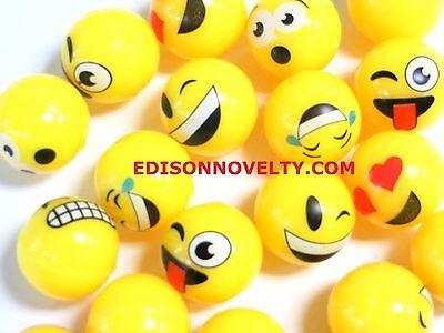 Emoji High Bounce Balls (20 Per Order) (Ball Emoji)