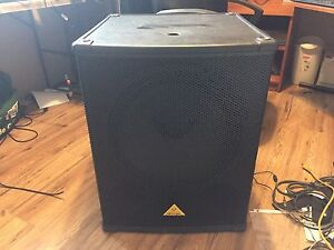 """Powered Subwoofer 18"""""""