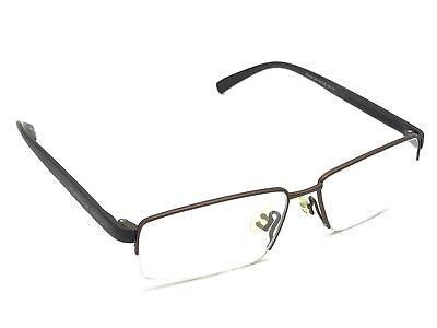 cf48fa6a164f Porsche Design P 8145 005 Bronze   Brown Half-Rimless Eyeglasses 55-15 145  Japan
