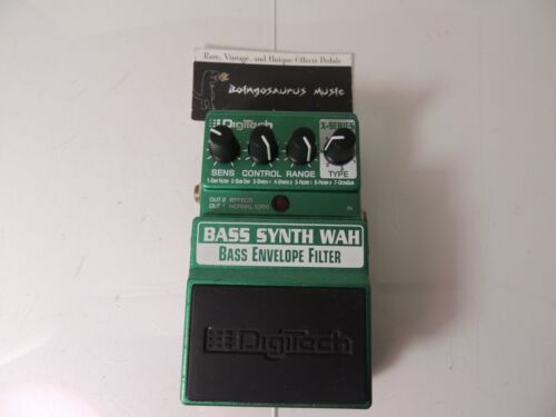 Digitech Bass Synth Wah Effects Pedal Synthesizer X-Series BSW Free USA Shipping