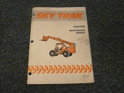 Sky Trak 9038 Forward Reach Forklift Lift Truck Shop Service Maintenance Manual