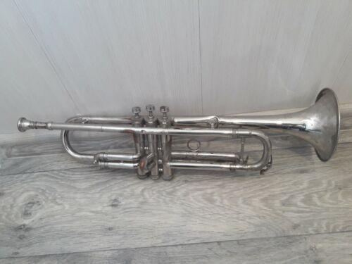Vintage Soviet musical instrument Trumpet Pipe Tuba . USSR Stigma 1977