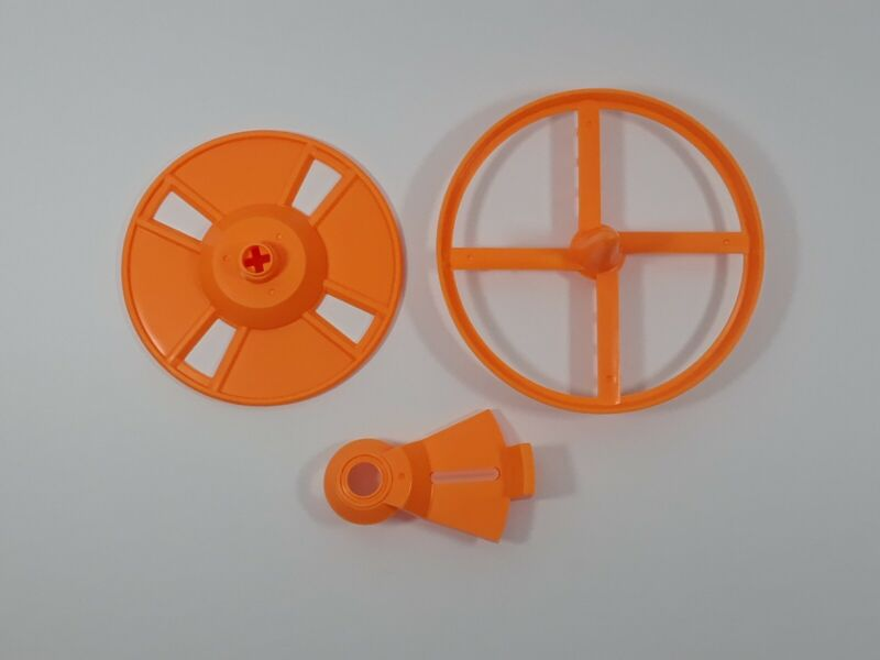 Baby Brezza Formula Pro Advanced FRP0046 Replacement Orange Stirring Wheels