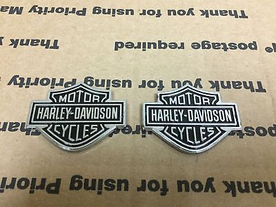 New Harley Davidson Motorcycle Gas Tank Lid Fender Logo Emblem Decal Sign S 2X