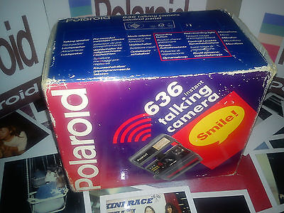 TALKING Polaroid  Instant Camera ++READY TO SHOOT PACKAGE+ FILM INCLUDED