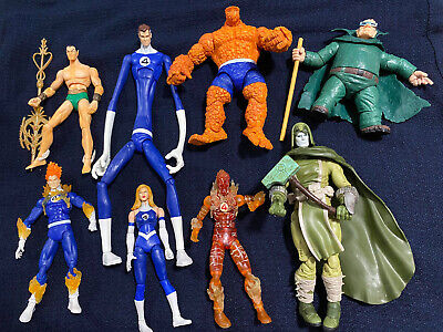 Marvel Legends Ronan Accuser Wave Almost Complete! Moleman And F4 Included. Read